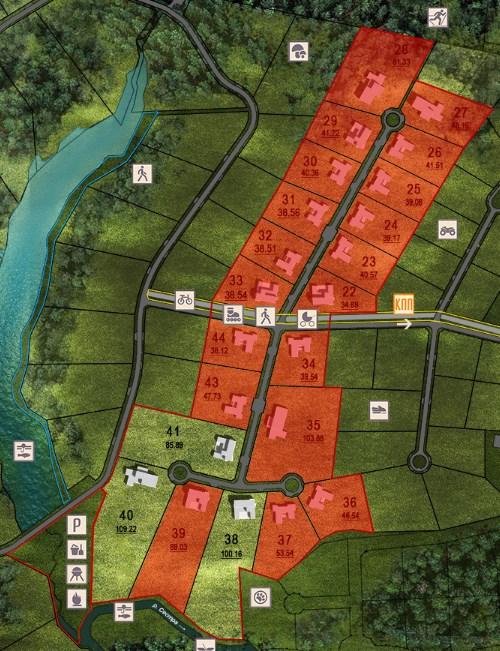 Генеральный план Парк