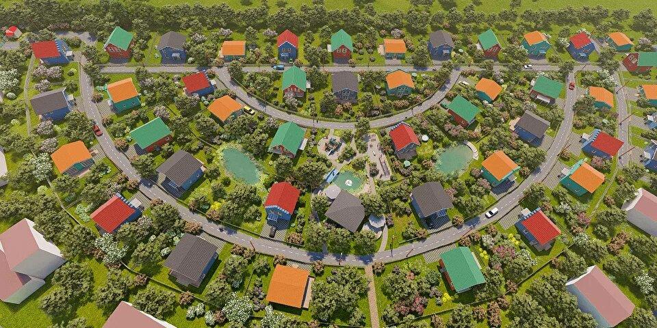 Генеральный план Голландская деревня