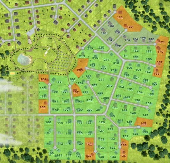 Генеральный план Извара Парк