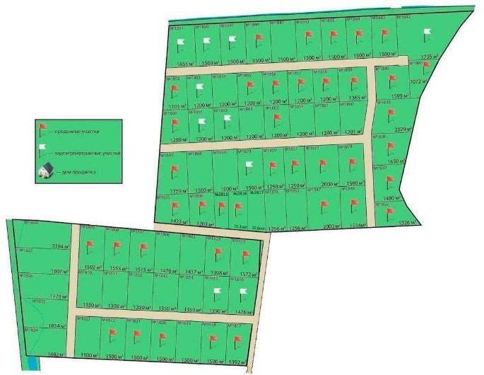 Генеральный план Царский склон 2