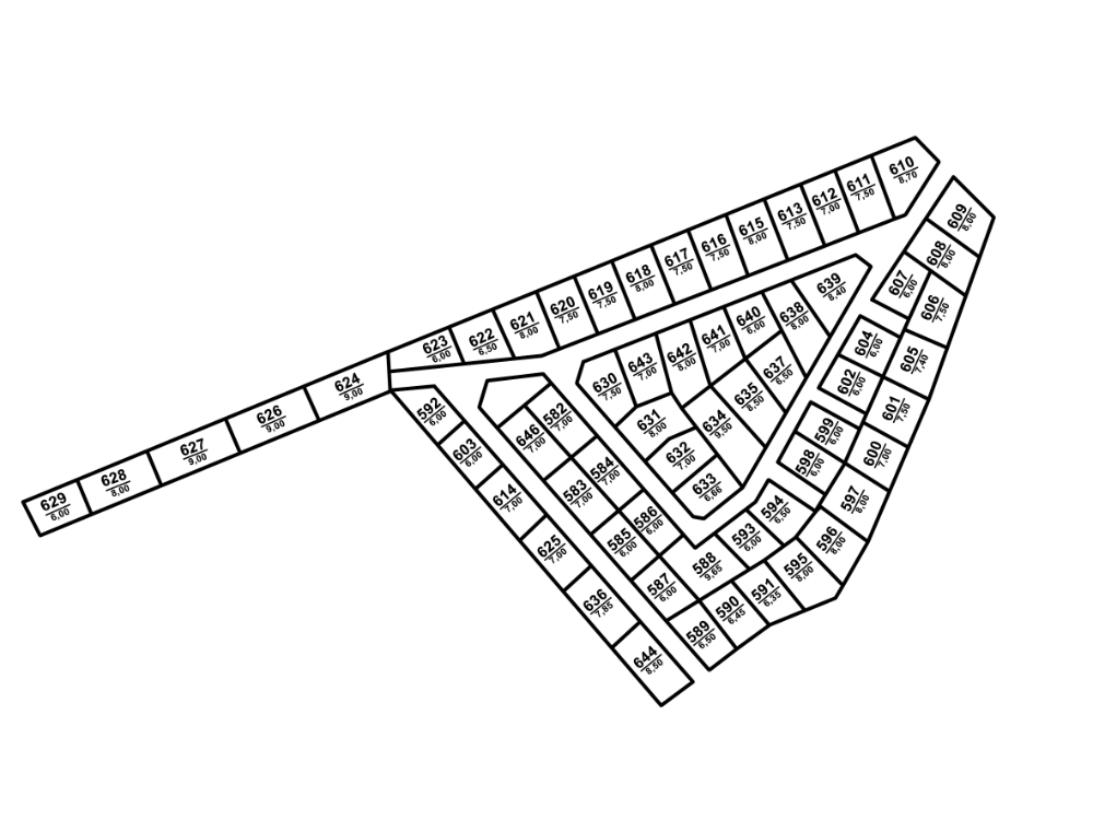 Генеральный план Hunter Village