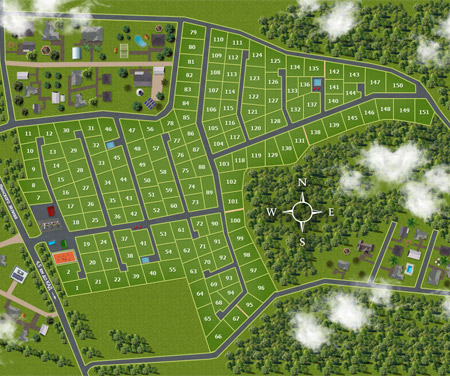Генеральный план Ягодное (Ломоносовский район)