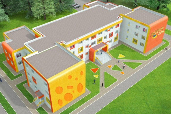 Строящийся в Сертолово детский сад передадут на баланс области