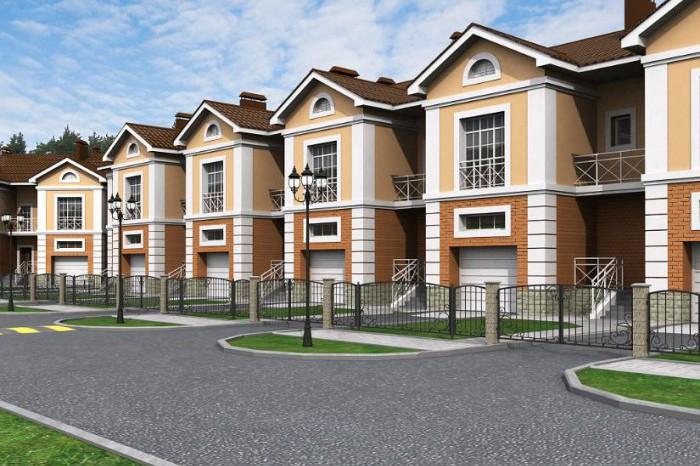 Покупатели загородной недвижимости отдают предпочтение таунхаусам