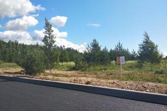 К коттеджным поселкам в районе Токсово проложили новую дорогу
