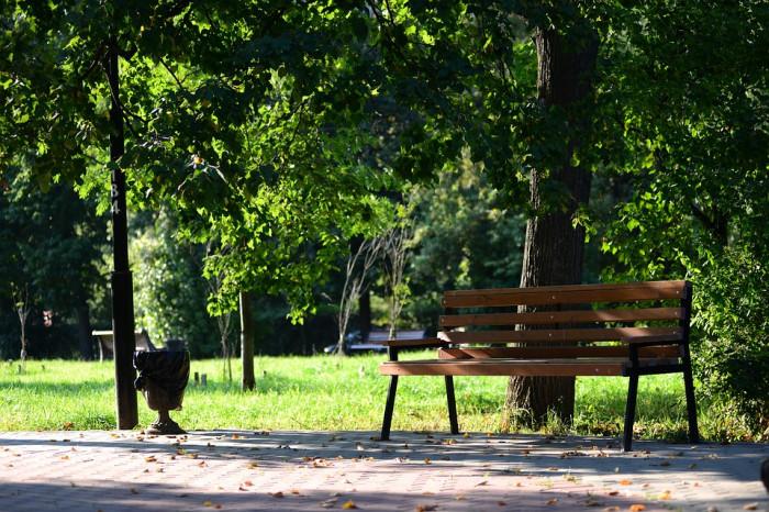 """В коттеджном поселке """"Юкковское"""" обустроили парк"""