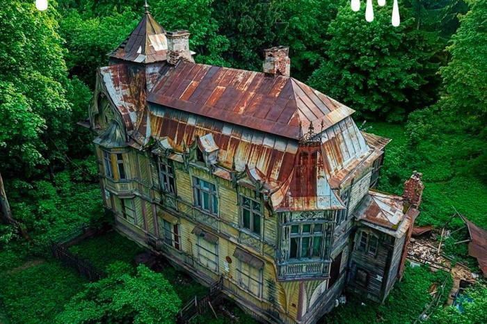 В Парголово с молотка продадут дом с привидениями