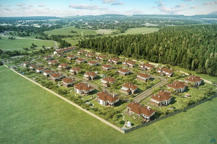 В Тосненском районе появится новый жилой поселок